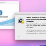 Cách xử lý cài SPSS cho máy macbook bị lỗi