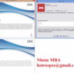 Tổng hợp link download phần mềm SPSS, AMOS