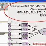 Cách sử dụng text macro hiển thị kết quả trong AMOS