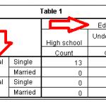 Cách sử dụng custom tables trong SPSS
