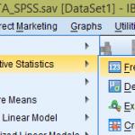 Hướng dẫn cách chạy thống kê tần số trong SPSS