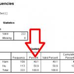 Cách hiển thị nhiều hơn một chữ số thập phân trong phần kết quả SPSS