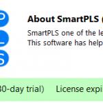 Cách bẻ khóa crack SmartPLS 3 mãi mãi sau khi hết thời hạn 30 ngày miễn phí